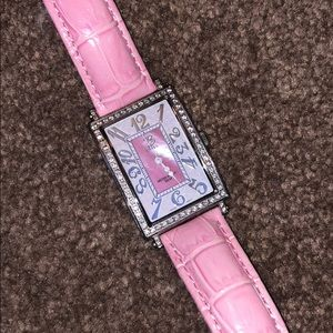 Accessories - Brizo Pink Leather Watch